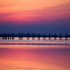 Awesome sunset on the Sound in Corolla, North Carolina, The Outer Banks