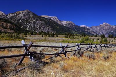Grand Teton Fence