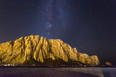 Milky Way Over Morro Rock