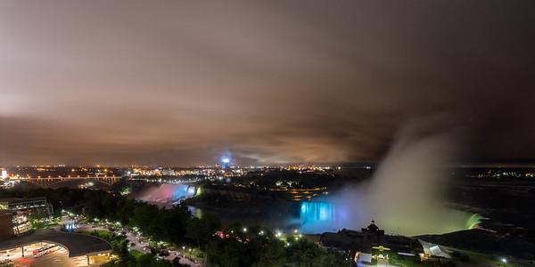 Rainy Niagara Night