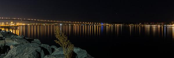 Coronado Bridge Reflections