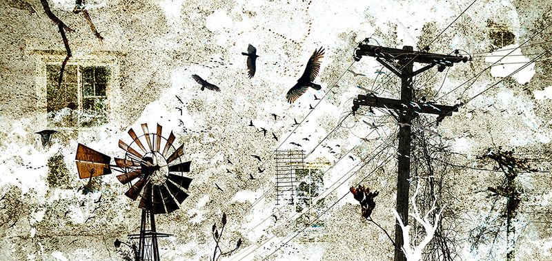 """""""Misplaced Memories"""" (digital photography) by Matthew Derezinski"""