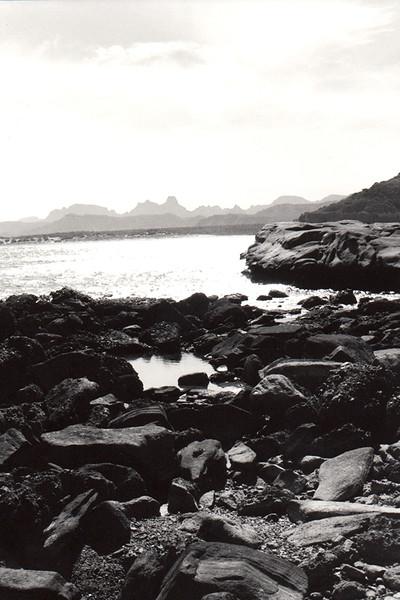 """Sea of Cortez "" (photography- silver gelatin print) by Lori Sapio"