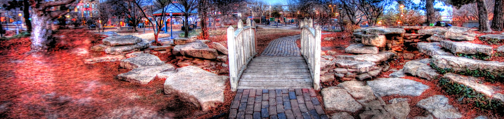 """""""Downtown Bridge"""" (photography) by Shineta Horton"""
