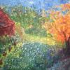"""Glad Stone"" (acrylic paint) by Madeline Spetrino"