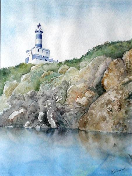 """""""Faro"""" (watercolor) by Sergio Farina"""