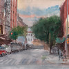 """Rivington and Chrystie Street"" (watercolor) by Walter Mosley"