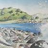 """""""Paesaggio"""" (watercolor) by Sergio Farina"""