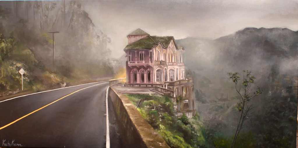 """Abandoned"" (oil on canvas) by Katy Kann"