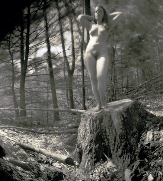 """Elisa_D_5-31-14--01AB"" (pinhole camera - digital pigment print) by Dan McCormack"
