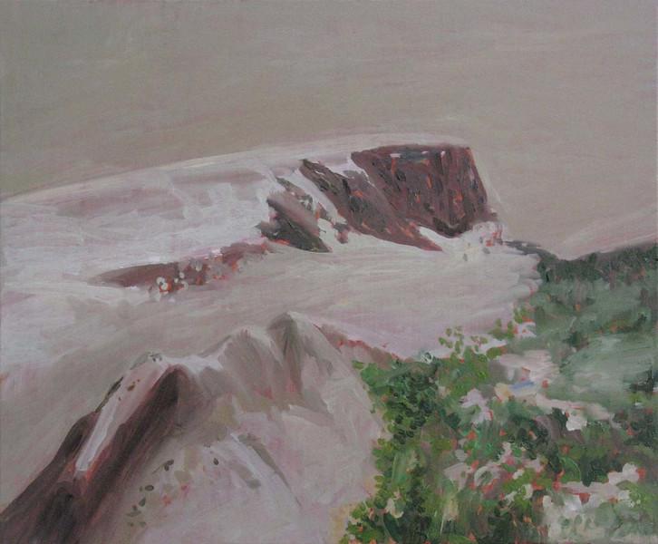 """Heterocosmic Landscape"" (oil painting) by Luis Monteiro"