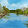 """Old Florida"" (oil) by Rosemary Tyler"