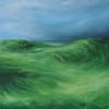 """Summer Fields No.4"" (oil on canvas) by Sara Richardson"