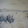 """SouthWest Prairie #1"" (acrylic, pastel, colored pencil, graphite) by Gregg Frederickson"
