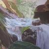 """Ketchikan Creek"" (soft pastel) by Harvey Rogosin"