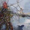 """""""Tangled"""" (oil) by Julia Hacker"""