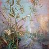 """At the Pond"" (mixed media) by Julia Hacker"