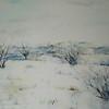 """SouthWest Prairie #2"" (acrylic, pastel, colored pencil, graphite) by Gregg Frederickson"