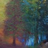"""Blue Light"" (acrylic on canvas) by Yossi Sigura"