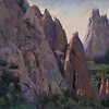 """Garden of the Gods"" (pastel) by Melody Sears"