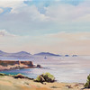 """Cote Bleue Marseille"" (oil on canvas) by Marina Pospelova"
