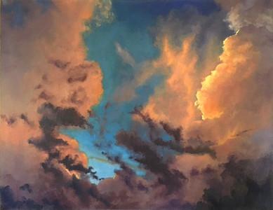"""""""Ephemeral I"""" (oil on linen) by Emily Sullivan"""