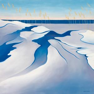 """""""Stillness Speaks"""" (oil on linen) by Margaret Biggs"""