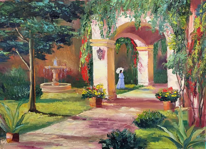 """Italian morning"" (oil) by Anastasia Strizhkova"