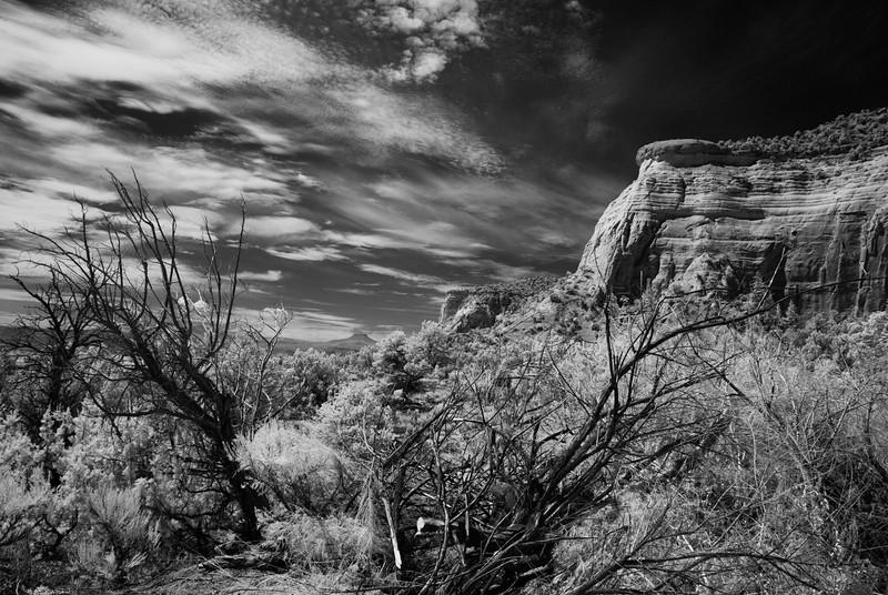 """Open, Pedernal Looms"" (photography) by Pamela Z Daum"