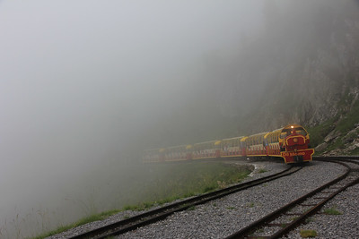 """Travelling through fog in Pyrenees"" (photography) by Thomas Henriksson"