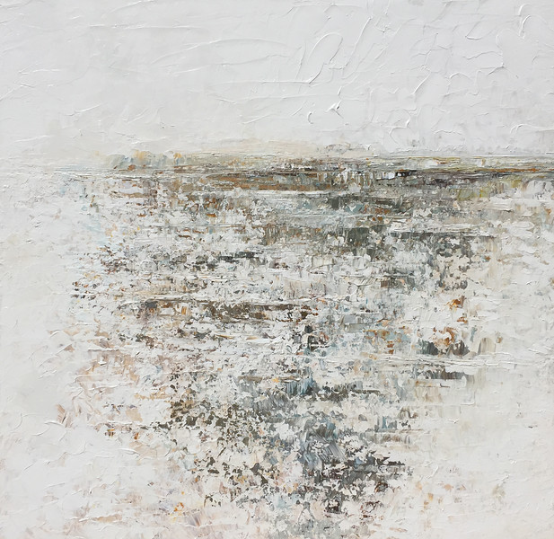 """Gray"" (acrylic) by Ruth LaGue"