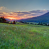 """Catawba Valley Sunrise"" (photography) by J Michael Williams"