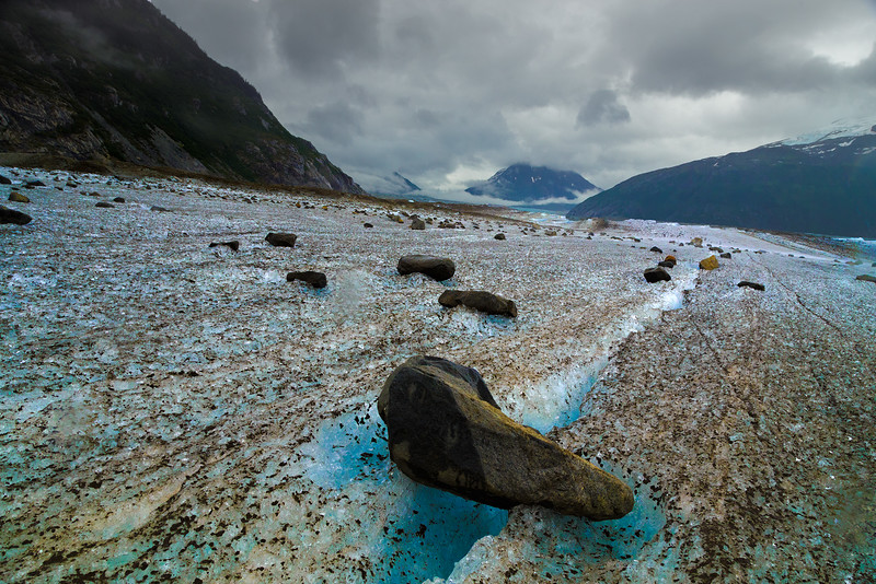 """Meade Glacier Landscape"" (photography) by Christopher Richmond"