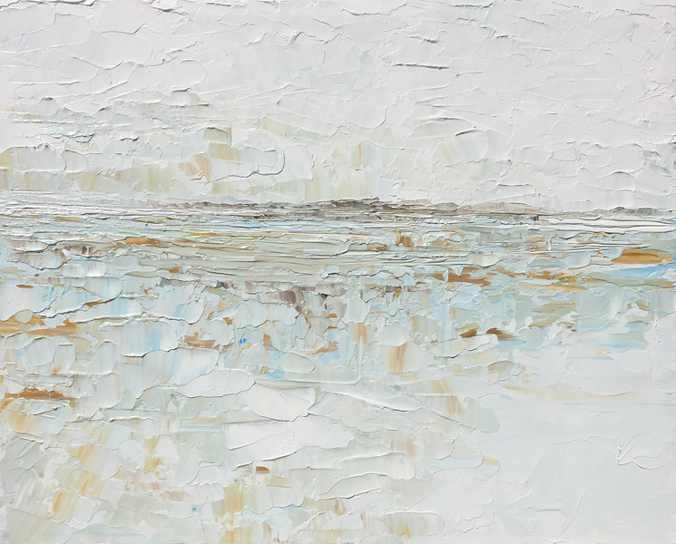 """Windy Landscape"" (acrylic) by Ruth LaGue"