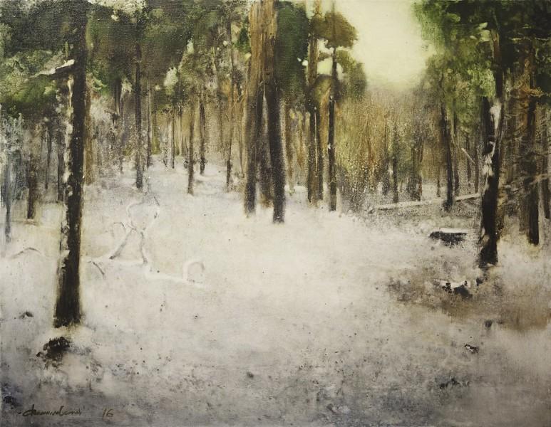 """Where quiet is"" (oil on canvas) by Danil Danilovskii"