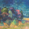 """Sunrise over Bloomsberry Hill"" (oil) by Margaret Adams"