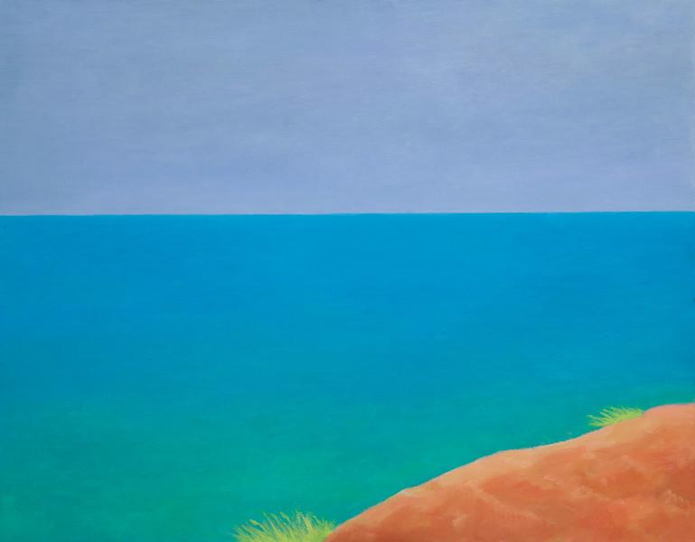 """After the rain"" (oil on canvas) by Roza Djangaracheva"