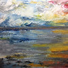 """""""Sunset"""" (oil on canvas) by Crista Bromley"""