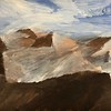 """Dunes"" (gouache) by Maxim Zverev"