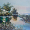 """""""Dawn"""" (oil on canvas) by Tamara Aharkava"""
