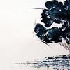 """""""Lone Tree"""" (acrylic on paper) by Anna Zaikina"""