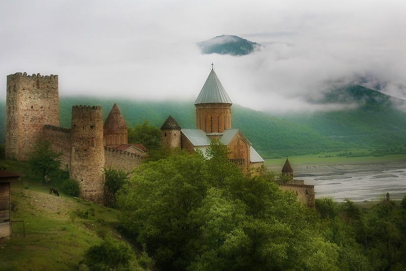"""Ananuri Fortress_Georgia"" (photography) by Alexander Novitskiy"