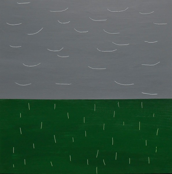"""Storm"" (acrylic on canvas) by Francis Alix"