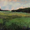 """Hill of Fields"" (soft pastel) by Aly Page"
