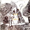 """Theatrical fountain in the summer garden"" (marker, mixed media) by Nikolai Petrenko"