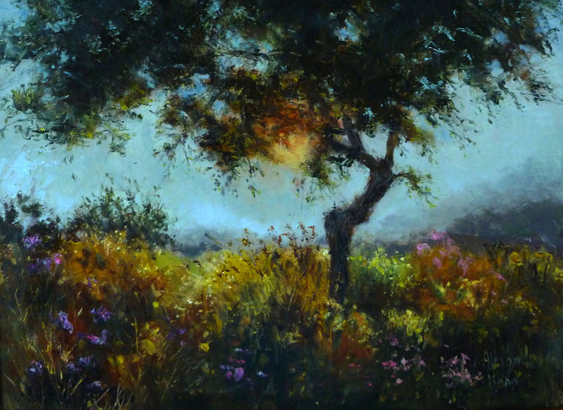 """Morning Light"" (oil) by Alexandra Kopp"