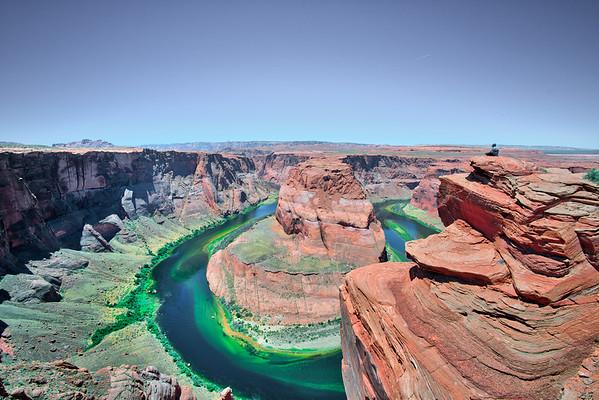 feels like mt. everest..  #horseshoebend #arizona #az #voigtlander15mm