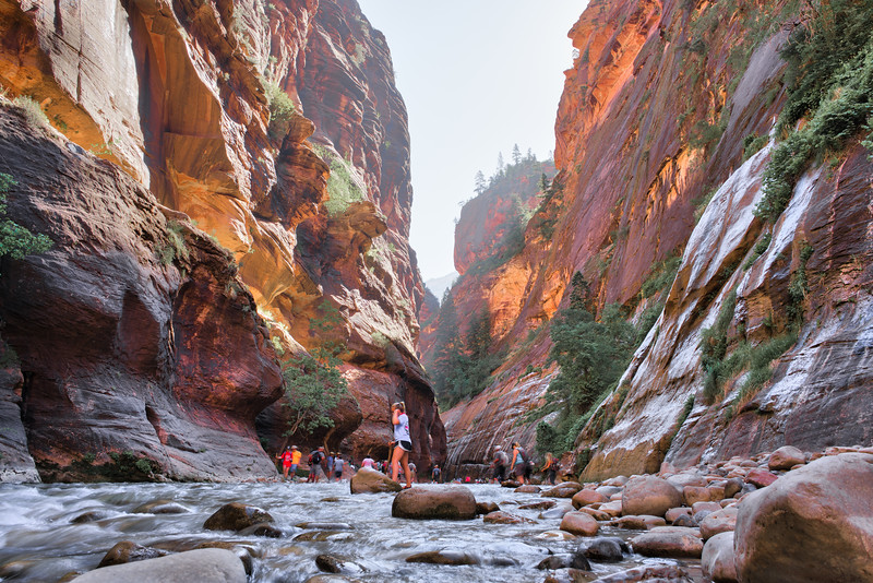 time to fish..  #zion #riverwalk #zeiss25mm