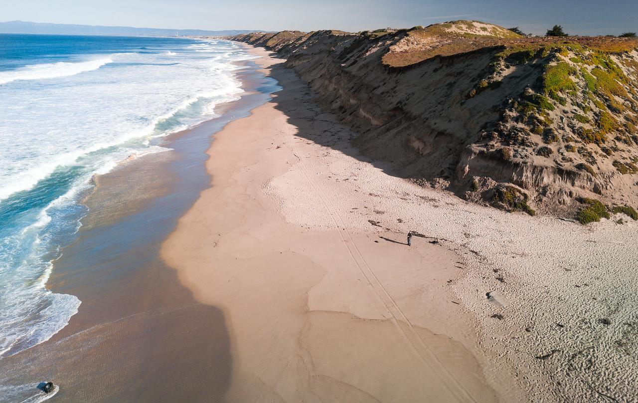 60 degrees and sunny..  #djimavic #dji #california #coastal
