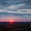 Sunset Atlanta Skyline - Atlanta GA 2018